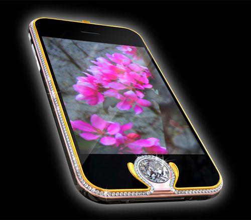 El quinto celular mas caro del mundo: iPhone Kings Button - usd 2.5 millones