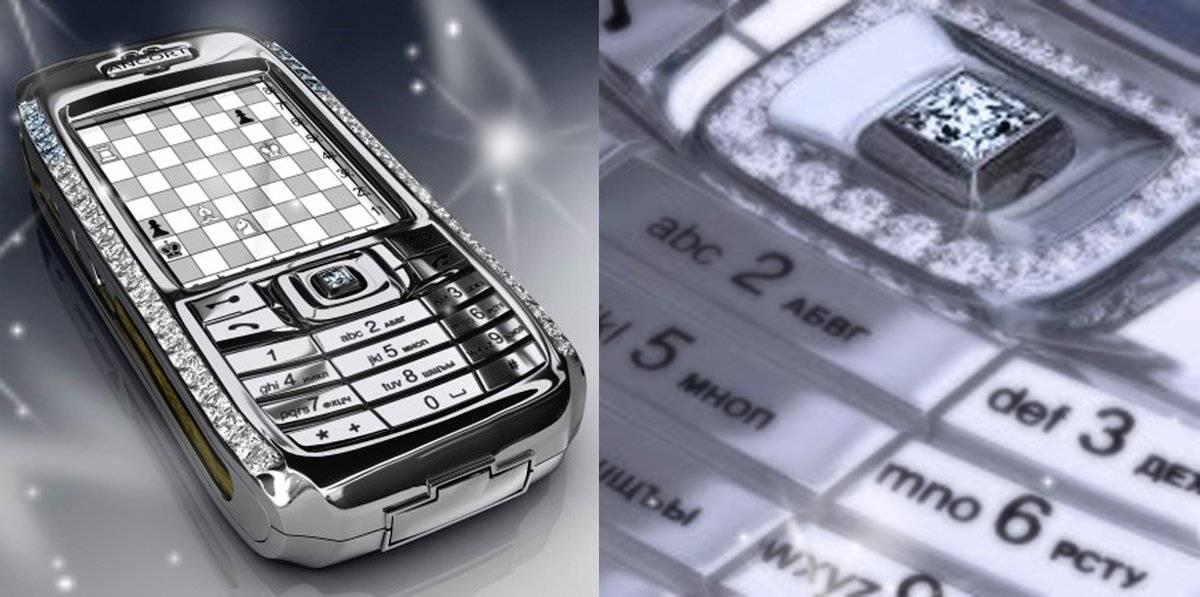 El sexto celular caro: Diamond Crypto Smartphone - usd 1.3 millones