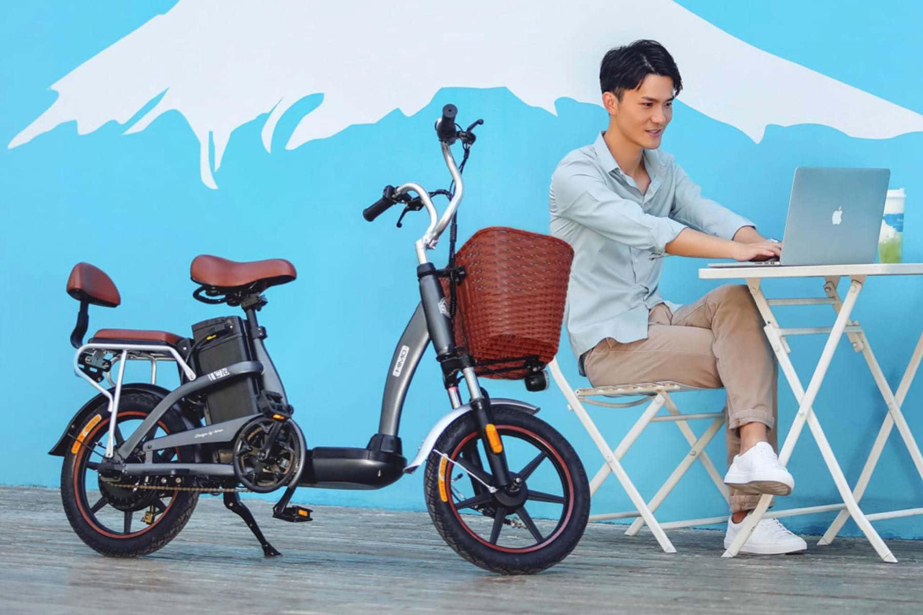 Con esta Bici de XIAOMI te moverás para todos lados