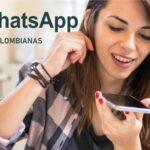 Números Chicas Colombianas para Chatear por Whatsapp